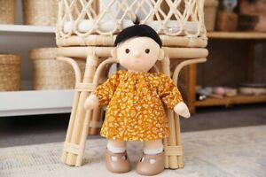 Ginger Soft Cord Winter Dress Clothing Clothes To Fit The Dinkum Doll Dolls
