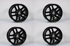 "SET OF 4 BMW X5 17"" 2002 2003 2004 2005 2006 GLOSS BLACK OEM WHEEL RIM"