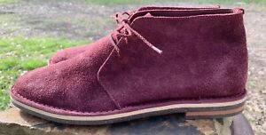 Cole Haan Burgundy Mens Shoes Chukka Boot C010026 Size 8