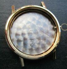 vtg omega gold plated 131.019 SP NOS case,for 600,601 manual movements