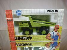 JOAL COMPACT 152 EUCLID R95B RIGID DUMPTRUCK - GREEN 1:50 - GOOD IN BOX