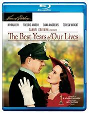THE BEST YEARS OF OUR LIVES (1946 Myrna Loy) -  Blu Ray - Sealed Region free
