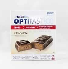 NEW FORMULA | OPTIFAST® 800 MEAL REPLACEMENT BAR | Chocolate Bars | 1 Box