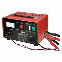 Maypole 12A Metal Battery Charger - 12V / 24V - Fast Charge / Boost - Car / Van