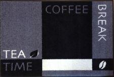 Waschbare Fußmatte - Tea Time - Coffee Break 60 x 85 cm - Wash+Dry Fußabstreifer