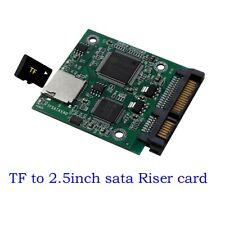 Micro SD TF Card To 22pin SATA Adapter Card 2.5in HDD Enclosure TF Cards To SATA