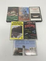 Choir cathedral treorchy male San Quentin Mass Cassette Tapes lot RARE VINTAGE!