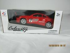 celerity superior rc car  27mhz  1:24scale 2ch with lights ages 3+