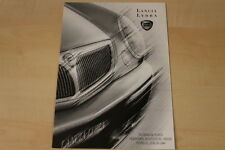 78113) Lancia Lybra + SW - Preise & Extras - Prospekt 01/2000