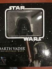 Star Wars Darth Vader Bust New/Mint Gentle Giant Revenge of the Site Last Jedi