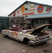 1962 CONVERTIBLE BUICK INVICTA FRAME, SOLID & RUST FREE