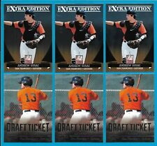 ANDREW SUSAC Lot of (6) 2011 Elite Extra & Contenders Draft Rookie Cards RC