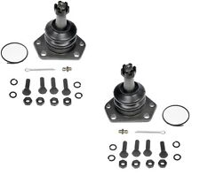 Pair Set of 2 Front Upper Ball Joints Dorman For Astro Sonoma Hombe Safari RWD