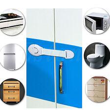 Lots 10 Child Infant Baby Kids Drawer Door Locks Cabinet Cupboard Toddler Safety