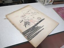 PROGRAMME SOIREE DE BALLETS THEATRE SARAH BERNHARDT BORIS KOCHNO JUIN 1945 CHEN*