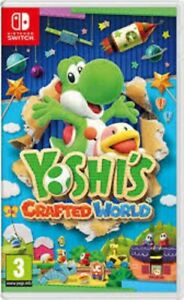 Yoshi's Crafted World - Nintendo Switch Game.  Complete with case & cartridge.