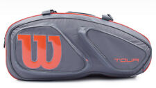 Wilson Tour V 15PK Tennis Racket Gray Racket Racquet Equipment Bag WRZ-841715