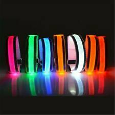2Pcs Reflective Arm Band Belt Strap For Outdoor Sports Night Running Cycling CA