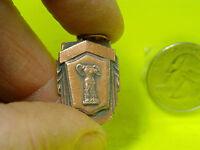 Original Vintage Solid Copper, Pendent, Headless Figure,