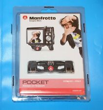 Manfrotto MP1-BK Pocket Nero di Piccolo supporto per fotocamere compatte - *** NUOVO ***