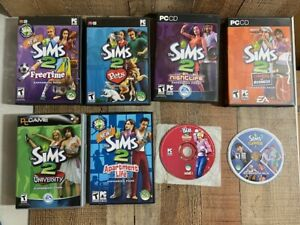 The Sims 2 PC Game Bundle Lot Expansion Packs Games (7)