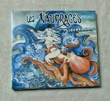 "CD AUDIO MUSIQUE / LES NAUFRAGES ""LIBERTALIA"" 12T CD ALBUM NEUF NEW SCELLE 2015"