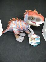 New Jurassic World Park Blue Dinosaur Plush Velociraptor Indominous Rex Doll Toy