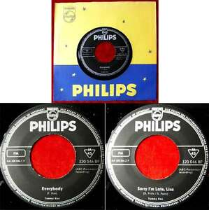 Single Tommy Roe: Everybody (Philips 320 046 BF) D