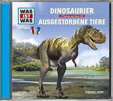 CD * WAS IST WAS - FOLGE 08 - DINOSAURIER / AUSGESTORBENE TIERE # NEU OVP !