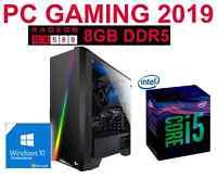 OFERTA REBAJAS Ordenador GAMER INTEL i5 8GB 1TB / ATI RX580 8GB/ WIN10