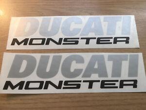 Ducati Monster 821 1200 1200S Petrol tank decal sticker set. Quality non oem