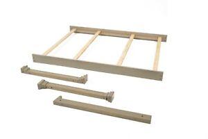 Full Size Conversion Kit Bed Rails for Sorelle Crib & Changers (see description)