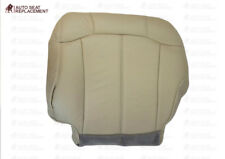 2000 01 02 GMC Yukon- Chevy Tahoe Suburban Passenger Bottom Seat Cover light Tan
