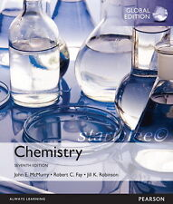NEW 3 Days US Chemistry 7E John E McMurry Robert C Fay Jill Robinson 7th Edition