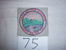 SQUARE Pa he tsi Lake of the Ozarks Boy Scout Camp Patch  Missouri - 75