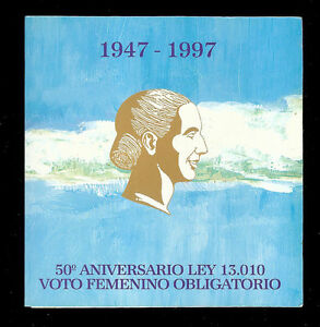 *EXTRA SCARCE* ARGENTINA BLISTER COINS 50 Cents 2 Pesos 1997 UNC - EVA EVITA