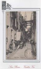 CARTOLINA 1909 ITALY SAN REMO VECCHIA VIA RIF 67
