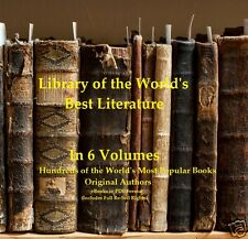 CD- Library of the World's Best Literature - 6 eBooks (Resell Rights)