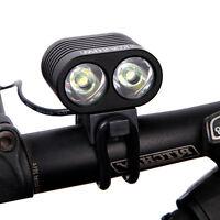 2 x 1800 Lumen XMK T6 USB Interface LED Bike Bicycle Light Headlamp Headlight