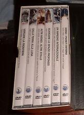 LA CONQUISTA DELLO SPAZIO *6 DVD + box* tutti Nuovi Sigillati e Perfetti *RARO*