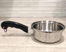 Saladmaster Waterless T304S Stainless Steel 1QT Saucepan Texas USA Cookware