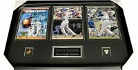 "Manny Ramirez Signed Autographed 8""x10"" Photo Custom Framed With 2 8x10s Dodgers"