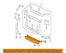 GM OEM Radiator Core Support-Air Baffle Duct Deflector 10323078