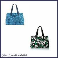 NWT Vera Bradley Triple Compartment Travel Bag Weekender Tote Carry-on