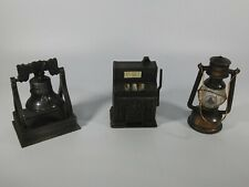 VINTAGE ASST. METAL (3) PENCIL SHARPENERS. GRWAT PRICE!