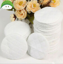 10pcs Bamboo Reusable Breast Pads Nursing Maternity Organic Plain Washable  IO