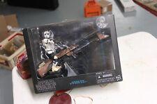 "SPEEDER BIKE BIKER SCOUT Trooper Star Wars Black Series 6"" inch 1:12 Hasbro 2014"