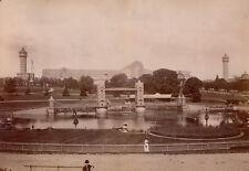 LONDRES 1887 - Palais de Cristal Crystal Palace Bassin Maquette Bridge - 10