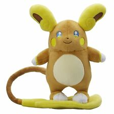 "TOMY Original Plush 8"" Pokemon Teddy Sun & Moon Alola Raichu, Pokédex Rotomdex"