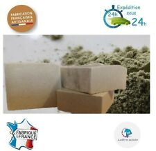 SHAMPOING ARTISANAL A L'ARGILE VERTE POUR CHEVEUX GRAS -100% NATUREL BIO VEGAN